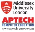 logo middlesex university of london a aptech europe