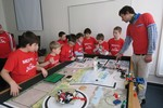 Projekt First Lego League podporila Nadácia Pontis